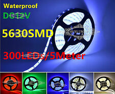 XMAS 5M SMD 5630 LED Agile Strip Light 300LEDs 12V Waterproof &Non Waterproof