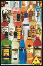 Piatnik Spirits of the World Bottles 1000 Piece Austrian Jigsaw Puzzle 5689