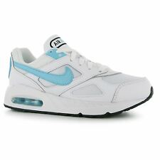 Nike Air Max Ivo Trainers Junior Girls White/Blue Sports Shoes Sneakers Footwear
