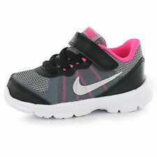 Nike Fusion X Trainers Infant Girls Black/Silver/Pink Sneakers Sports Shoes