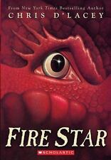 Fire Star (Last Dragon Chronicles, Book 3), Chris d'Lacey, Acceptable Book