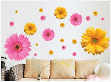 Daisy Flower Removable Art Mural Vinyl Wall Sticker DIY Decal Home Room Decor