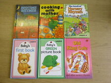 6 x Ladybird Early Learning  Old King Cole / Baby's First Book / Baby's Green Pi