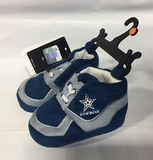 Dallas Cowboys Sneaker Baby Booties Slippers NEW Infant Shoes Newborn Shower