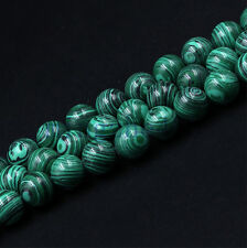 50Pcs New Green Black Striped Turquoise Beads Loose Spacer Bead Jewelry Findings