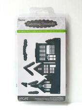 Darice Winter Dies SNOW VILLAGE 6pc Die Cut Embossing Stencil 2014-106