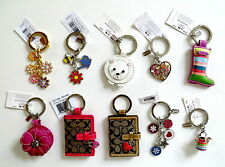 Coach Key Ring Chain Fob Your Choice Various Styles NWT & NWOT