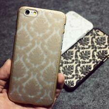 Hard Back Vintage Damask Skin Cover Case Shell for iPhone 4 4s 5C 6 plus 6s plus
