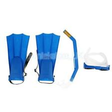 Adult Snorkel Mask & Fin/Flippers Scuba Swimming Diving Set