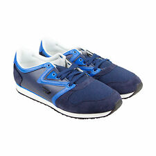 Diesel E-Boojik Mens Blue Suede & Leather Lace Up Sneakers Shoes