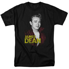 James Dean Icon Movie Actor Retro Red Jacket Vintage Style Adult T-Shirt Tee
