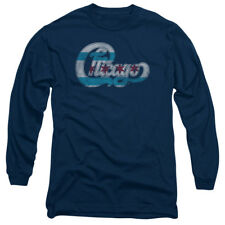 Chicago American Rock Band Stars And Stripes Logo Adult Long Sleeve T-Shirt Tee