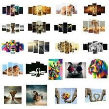 20-60cm Canvas Print Wall Decor Animal Oil Painting Art Unframed Adorned Picture