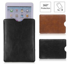 Universal  Soft Leather Sleeve Bag Case Cover Pouch For Tablet PAD 8'' 9'' 10''