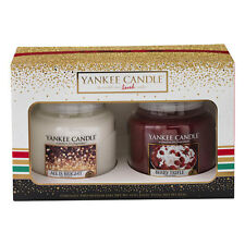 NEW Yankee Candle (2016) Christmas Gift Set - 2 Medium Jars