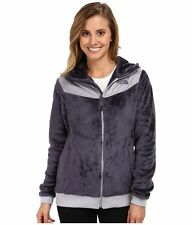 ❄️NEW Womens The North Face Oso Fleece Hoodie Jacket Winter Coat Greystone Blue