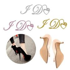 I Do Wedding Bride Groom Shoe Stickers Crystal Diamante Rhinestone Decoration