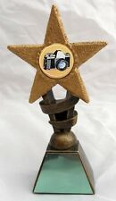 PHOTOGRAPHY CAMERA STAR TROPHY INCLUDING YOUR ENGRAVING Choice of Sizes NEW