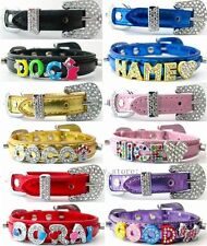 Rhinestone Pet Collar For Dog Cat Puppy Personalized Collar DIY Crystal Name