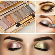 9 Shades Beauty Shimmer Eyeshadow Smoky Eye Shadow Makeup Cosmetic Palette New