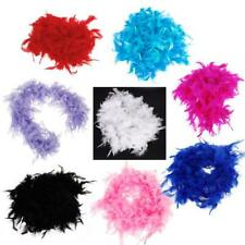 6.6 Feet Soft Fluffy Feather Boa Fluffy Wedding Party Craft Decoration Dress Up