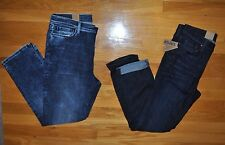NWT Womens DKNY JEANS Skinny Crop Soho Mid Rise Jeans Choose Size