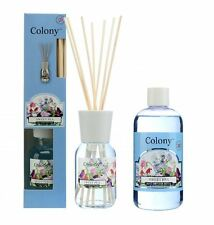 Wax Lyrical Colony Sweet Pea Reed Diffuser 120ml and Refill 250ml Options