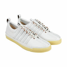 K-Swiss X Billy Reid Arlington VT Mens White Leather Lace Up Sneakers Shoes