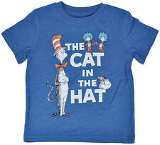 Dr Seuss Cat in the Hat Thing Fish Blue Toddler Boys T-Shirt