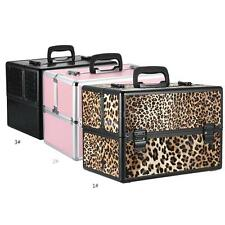 Foldable Cosmetic Organizer Stand Box Jewelry Make Up Case Bag Beauty Case G4Z1