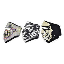 Motorcycle Cycling Ski Outdoor Ghost Skull Balaclava Neck Hood Full Face Mask EF