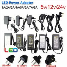 DC 5V 12V 24V Switch Power Supply Adapter Charger Transformer For Led Strip Lamp