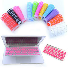 UK EU Silicone Keyboard Protector Cover Skin For Macbook Pro 13 15 Air 13 Retina