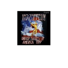 Music Tee LED ZEPPELIN - AMERICAN TOUR 1977