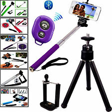 TRIPOD STAND HOLDER  WITH REMOTE+ SELFIE STICK FOR 2015-2016 NEW PHONES.
