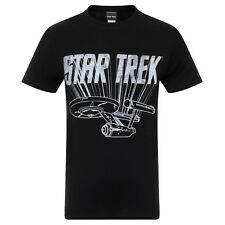 Star Trek Official Gift Spock Scotty Captain Kirk Uniform Mens T-Shirt