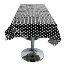 New Plastic Disposable Polka Dot Table Cloth Wedding Party Supplies