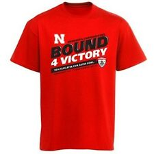 Nebraska Cornhuskers 2014 Gator Bowl 4 Victory t-shirt NWT Huskers Football new