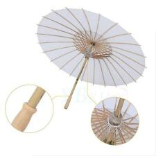 Multifunctional Bamboo Polyester Paper Umbrella Parasol Dance Party Decoration
