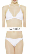 La Perla Cape Cod White Padded Bikini Top and Bottom Set