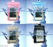 Waterproof Underwater Pouch Dry Bag Pack Case Cover For iPhone 5C 5S 5 4S 4