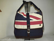 BEN SHERMAN SHOULDER BAG UNION PRINT MAP BAG ENGLISH FLAG