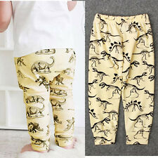 Winter Toddler Kids Boy Animal Print Elasticity Long Pants Lovely Harem Trousers