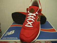 New! Mens New Balance 574 Classic Running Sneakers Shoes 18 Red