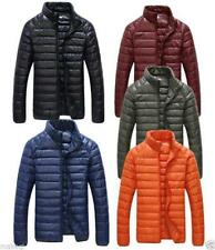 Chic mens thick light snow jacket coat DUCK DOWN 90% ski climbing Outerwear New
