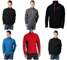 Spyder Men's Outbound Half Zip Sweater Midweight Core Fleece Jacket coat