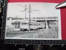 PHOTO of SHAKER HEIGHTS RAILWAY ELECTRIC INTERURBAN TROLLEY CAR #42 CLEVELAND