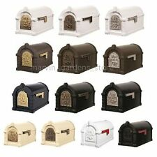 GAINES KEYSTONE SERIES MAIL BOX CAST ALUMINUM MAILBOX 28 VARIATIONS AVAILABLE