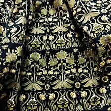 Art Nouveau fabric after Voysey William Morris DIY cushions vtg country house