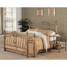 Coaster Company Sydney Iron Goldtone Headboard and Footboard
